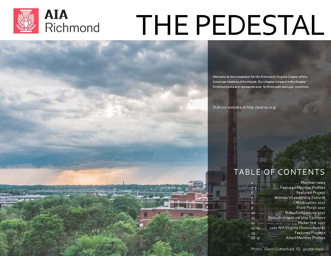 The Pedestal: Q3, 2017