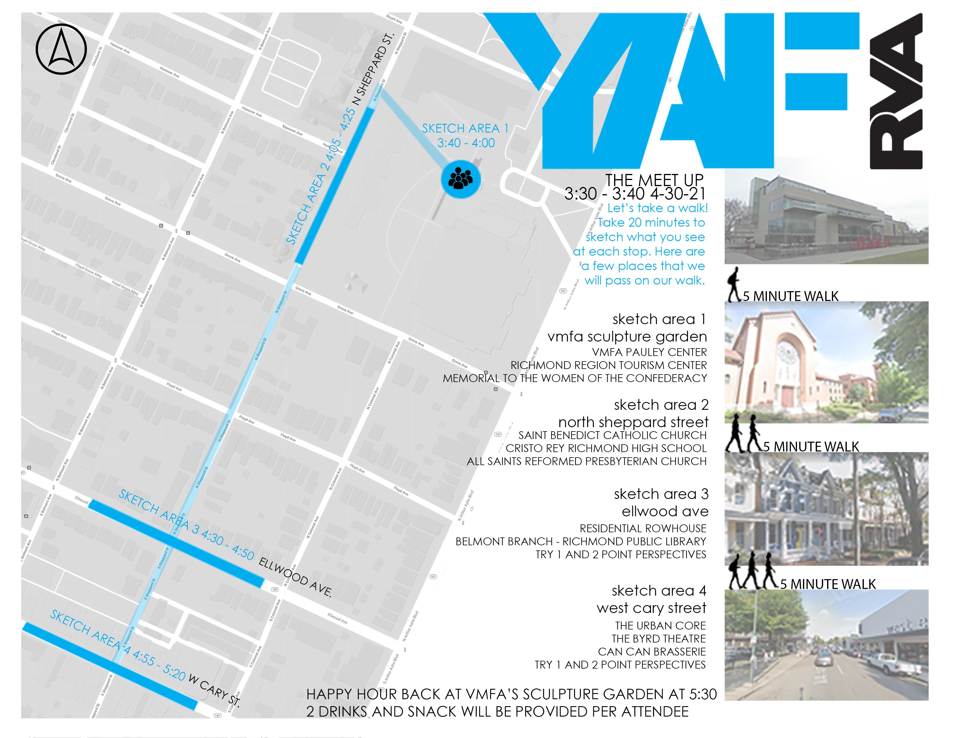 SKETCH TOUR Map